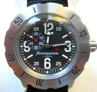 RUSSIAN WATCH VOSTOK KOMANDIRSKIE AUTOMATIC MILITARY 350748