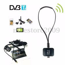 DVB-T2 Dongle Receiver HD Digital TV Tuner Satellite Stick For Android Phone Pad