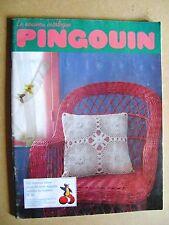 Magazine tricot pingouin 100 bonnes idées pour décorer la maison N/10 /C30