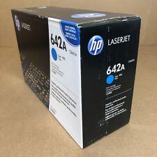 Genuine HP CB401A (642A) Cyan Toner Cartridge - NEW SEALED