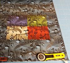 Wassertransferdruck Folie Musik Note - 50cm breit