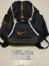 Nike Hoops Elite Max Air Team 2.0 Basketball Backpack Black/Gold Size OSFA BNWT