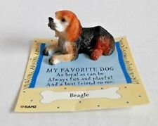 Beagle My Favorite Dog GANZ collectible figurine puppy cute made in China