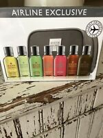 MOLTON BROWN LONDON Jet Set Airline Exclusive 7 PIECE BODY WASH/SHOWER GEL