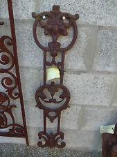 plaque a suspendre , fronton , décoration en fonte avoir !!anti-vol