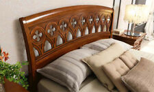 Luxus Bett Traforata 180 cm Ducale Kirschbaum Furnier Holz Stilvoll  aus Italien