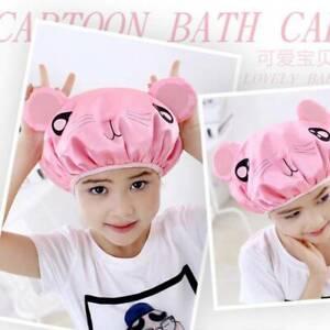 Cartoon Bathing Cap Swimming Wear Kids Children Cute Home Water Playing C
