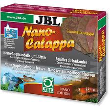 JBL Nano Catappa Indian Almond Leaves for Shrimp Discus Betta Fish