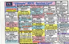NICU Neonatal Intensive Care Unit Quick Reference - Study Guide - Scrub Notes