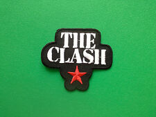HEAVY METAL PUNK ROCK MUSIC SEW ON / IRON ON PATCH:- THE CLASH (a) JOE STRUMMER