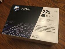 HP 27X Black Toner Cartridge C4127X LaserJet series 4000 4050