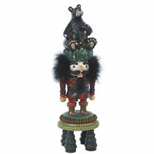 Kurt Adler Hollywood Black Bear Smokey Forest Christmas Nutcracker Hunter Polar