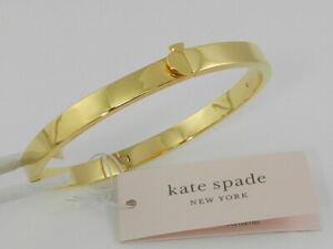 kate spade new york  Gold-Tone  Spade Bangle Bracelet