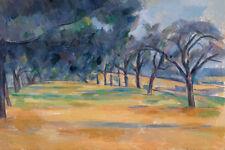 The Allée at Marines by Paul Cézanne 60cm x 40cm Art Paper Print