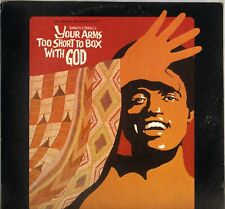 """ALEX BRADFORD """"YOUR ARMS TOO SHORT TO BOX WITH GOD"""" GOSPEL SOUL FUNK 70'S LP"""