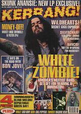 White Zombie on Kerrang Cover 1995    Bon Jovi    Soundgarden    Max Cavalera
