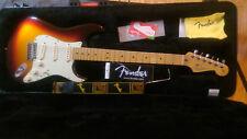 Fender American Deluxe Stratocaster Plus 2013 Sunburst w/ case