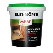MEM Blitz-Mörtel grau, 1 kg   Schnellzement