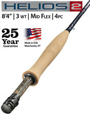 Orvis Helios2 843-4 Fly Rod  $795  NEW  FREE SHIPPING  25-Year Guarantee
