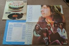 The Rolling Stones - Let It Bleed UK LP DECCA BOXED STEREO POSTER/STICKER