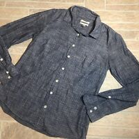 J.Crew 2 Perfect Button Down long Sleeve Dots Blue Top