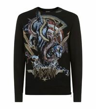 Authentic Balmain Printed Panther Sweater Jumper size XS rrp £465