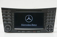 04-08 Mercedes W211 E320 Comand Unit Navigation Radio CD Player OEM A2118276342