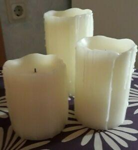 Elambia flammenlose Kerzen Timer
