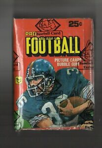 1980 TOPPS FOOTBALL WAX BOX BBCE AUTHENTICATED 36 PACKS POSSIBLE PHIL SIMMS RC