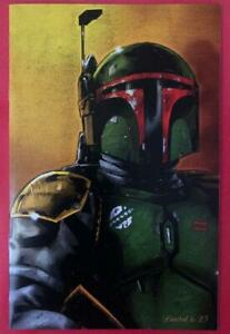 Imperial Valley Comic Con (2020) - Virgin Boba Fett Cover Variant Limited to 25!