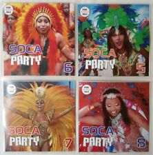 'Soca Party' 5-8 JUMBO 4CD Party Pack - Calypso & Soca Party (Full Length) tunes