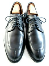"""Allen Edmonds """"DELRAY"""" Split-Toe Lace-Up Dress Shoe Blucher 9 D  Black  USA(650)"""