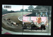 OPC 1999 Finland Formula 1 Souvenir Sheet Sc#1098 MNH 34752