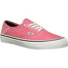Vans Authentic SF Salt Wash Desert Rose Men's Classic Skate Shoes Size 9.5