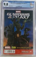 Marvel Universe: Guardians of the Galaxy: #1 CGC 9.8 WHITE Pages 4/2015