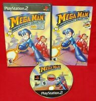 Mega Man Anniversary Collection  Playstation 2 PS2 Game Working Tested - 1 Owner