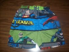 Little Boys JUSTICE LEAGUE Swim Shorts Trunks - Size 5 - 6 -  New NWT