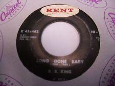 """B.B. King The Jungle / Long Gone Baby 7"""" 45 rpm Kent VG"""
