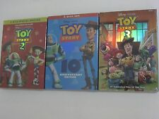 Toy Story Trilogy DVD Complete Set 1 2 3 Free shipping BRAND NEW
