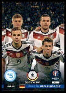 Panini Road to EURO 2016 Adrenalyn XL Line-Up 2 Deutschland No. 62