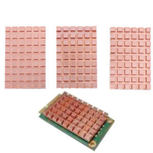 Copper Heatsink for mSATA NGFF 5030 msata3.0 Solid State Disk SSD RadiatorB`hw