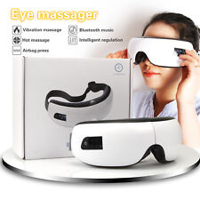 180° folding Eye Massager Wireless Music Air Electric Pressure Heat Care New
