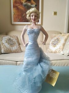 Franklin Mint Porcelain Doll Marilyn Monroe