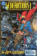Superman & Batman Generations 3 #1 VF+/NM- 1st Print Free UK P&P DC Comics