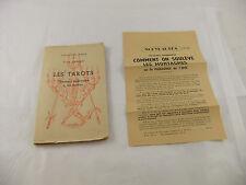 Les Tarots - Robert Ambelain - 1950 - Ocult Simplifier - Tarot Book