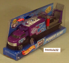 Hot Wheels Power Semi Hauler World's Fastest Detailers w OVERBOARD 454 variation