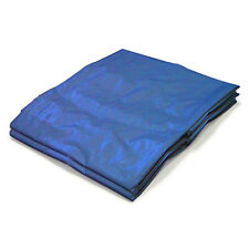 5x7 Blue Tarp Tarpaulin Poly Tent Canopy Cover Camping Ground Sheet *US seller
