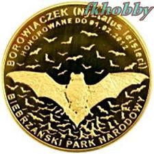 Polonia 2011 coins 10 Miedz. Nietoperz Bat Animals Tiere Butterfly Bison
