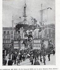06 NICE CARNAVAL XXXI PLACE MASSENA IMAGE 1903