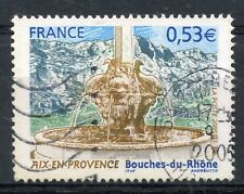 STAMP / TIMBRE FRANCE OBLITERE N° 3777 AIX EN PROVENCE FONTAINE